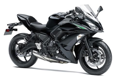 Ninja650 2018年モデル 2017年モデル メタリックスーパーブラック