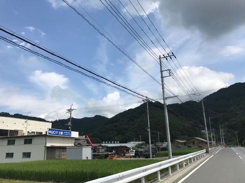 県道11号で定峰峠へ