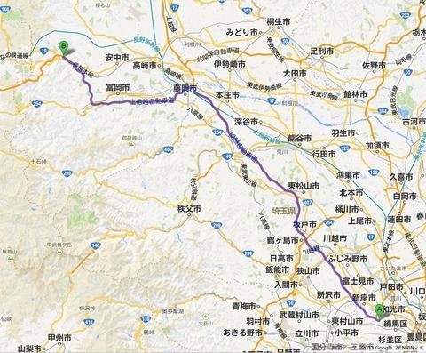 軽井沢へ避暑ツーリング