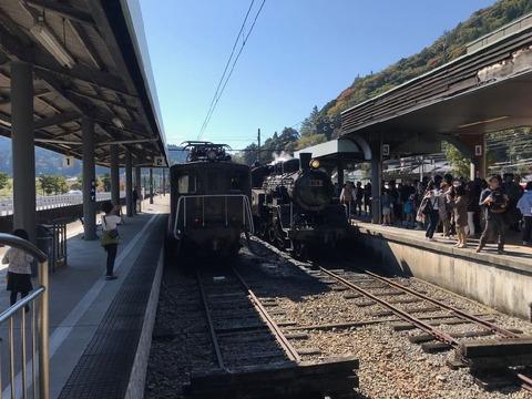 大井川鐵道といえば蒸機と電機