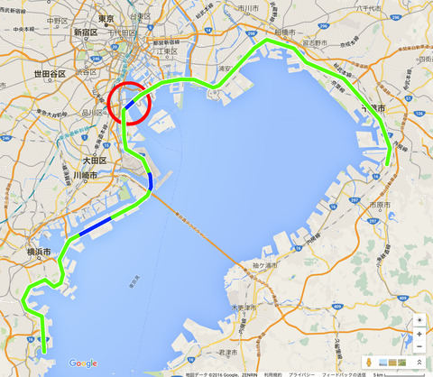 国道357号線東京港トンネル開通!