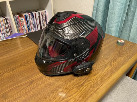 カーボンヘルメット Wins A-Force RS インプレ