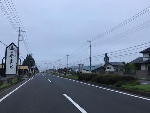 県道32号経由で県道15号へ
