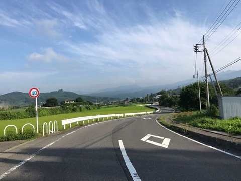 望郷ラインの絶景
