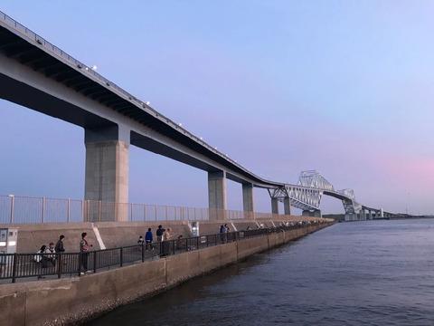 若洲海浜公園 東京ゲートブリッジ