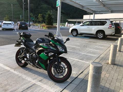 静岡SAで満タンにして、島田金谷で下道へ