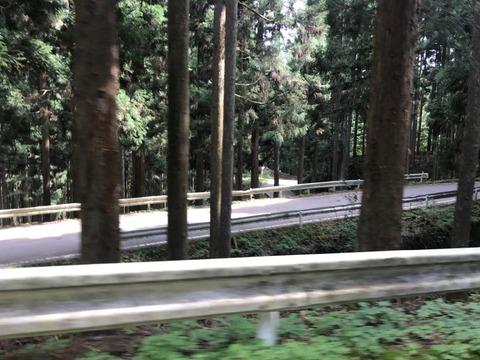 県道93号田口峠、東側のつづら折れがやべえ