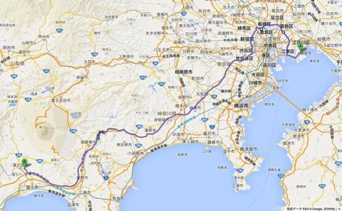 富士山麓を巡る - 春分の連休をがっつり走る(その2)
