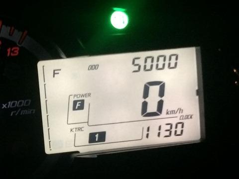 5,000km!