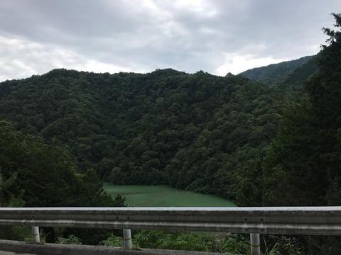 松川ダムにも寄ってみようかと思いましたが見送り