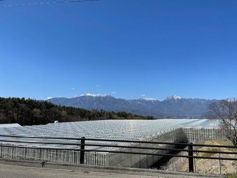 寒の戻りの高原ツーリング