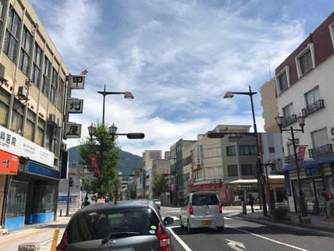 青木村からはそのまま国道を走り、上田の市街へ