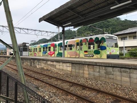 上信電鉄の「南蛇井」駅