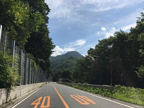 日本ロマンチック街道こと国道120号