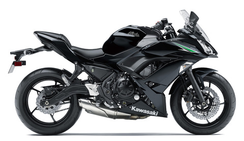 Ninja650 2017年モデル メタリックスーパーブラック