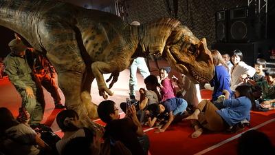 恐竜ライブショー画像�