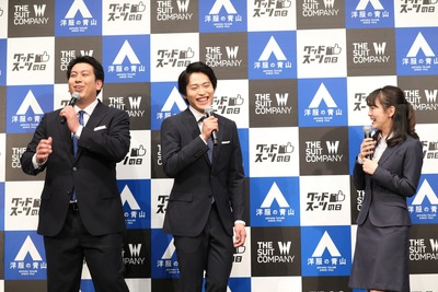 オフィシャル画像_『グッドスーツの日』制定記念PRイベント (1)
