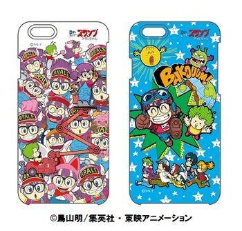 アラレちゃんiPhoneケース2種