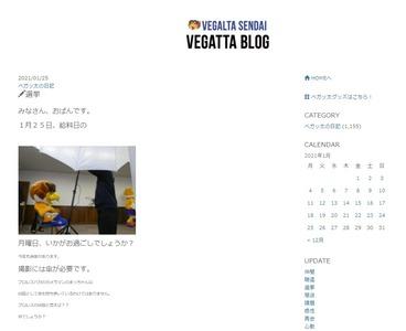 ベガッ太ブログ