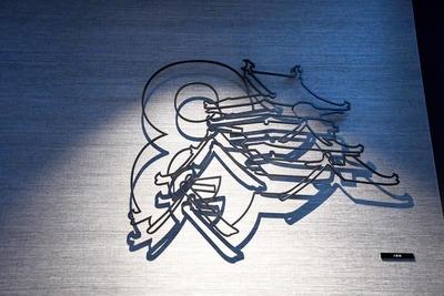 針金アート大阪城