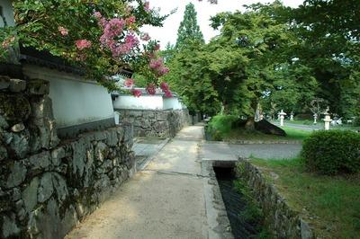 坂本の街並み