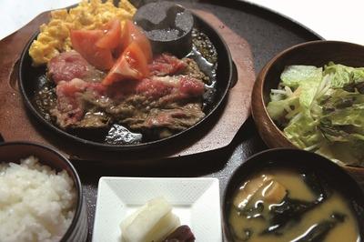 近江牛焼きすき じゅんじゅん定食