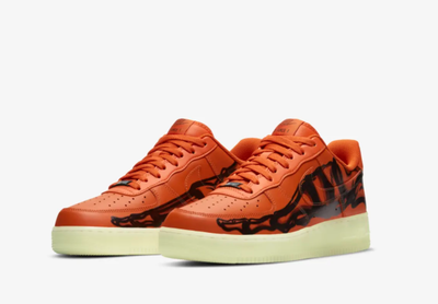 AF1SKELETON ORANGE
