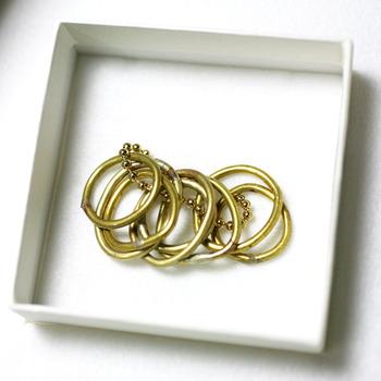 名もなき指輪_真鍮