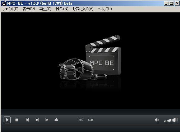MPC-BEの便利なシークバー サムネイル