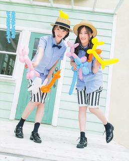 乃木坂46 星野みなみ、堀未央奈 BOMB 2016年7月号