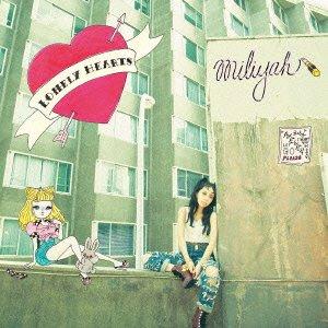 加藤ミリヤ「Lonely Hearts」ジャケット写真