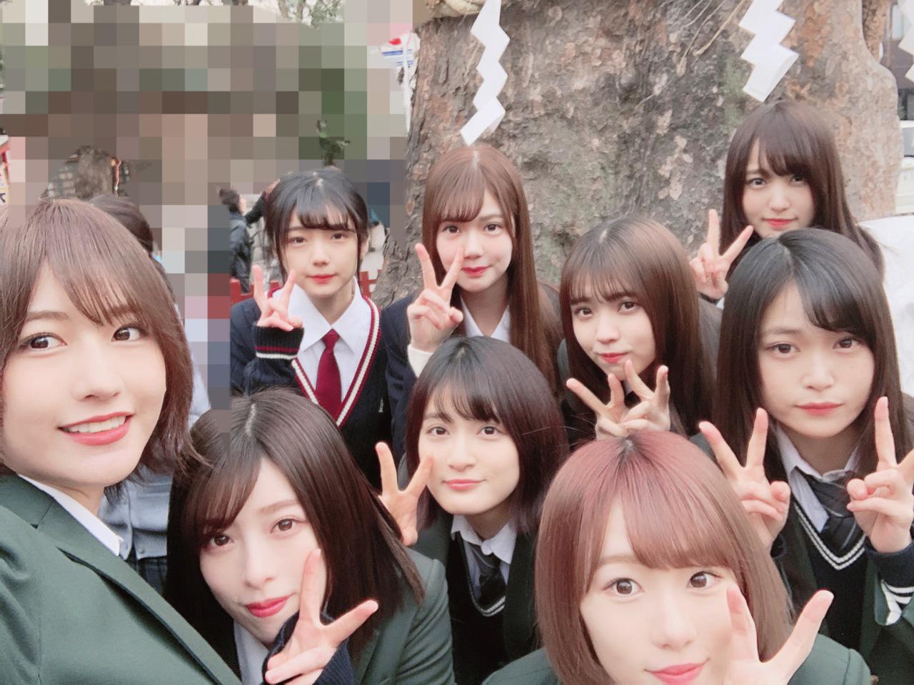 欅坂46 イジメファイブ 集合写真