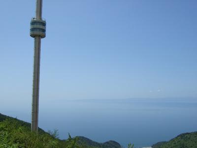 1157日目 04パノラマタワーと佐渡島