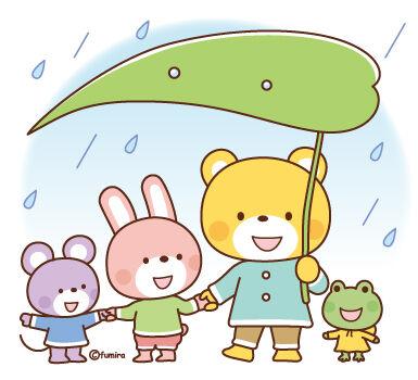 梅雨のイラスト2