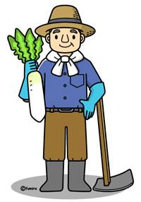 農業・農家の人のイラスト