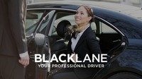Blacklane -- Woman exiting vehicle