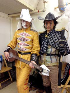 """小川さん(小川輝晃)!!舞台上では""""最後の4人""""の一人、カピタンを魅力的に演"""