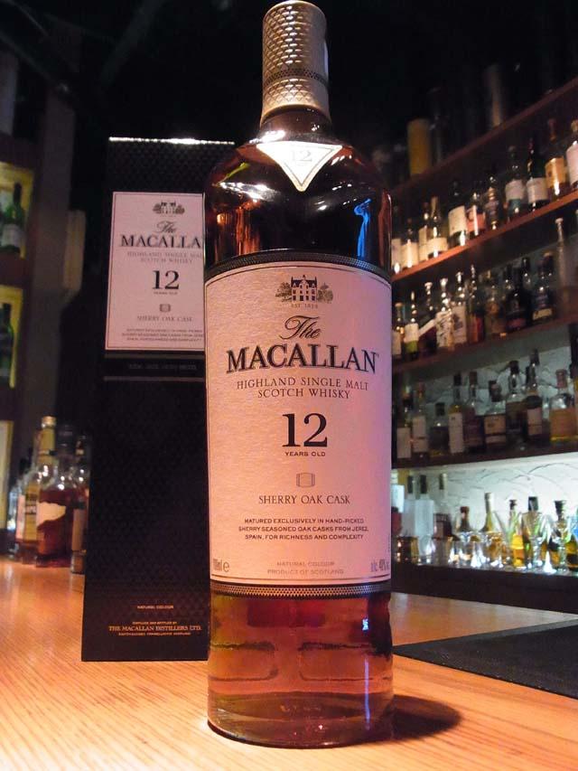 The MACALLAN 12yo SHERRY OAK CASK / ザ・マッカラン12年 シェリーオークカスク