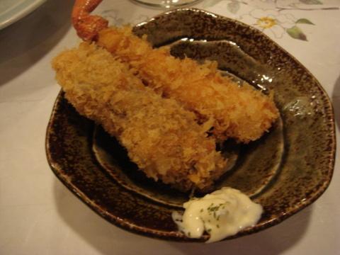 牡蠣・蟹フライ