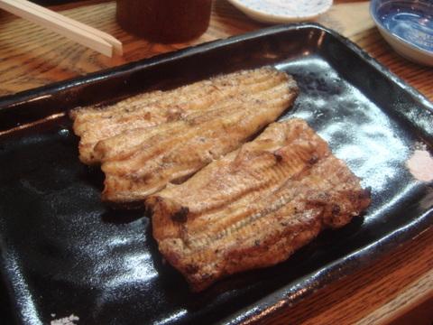 池袋かぶと 宍道湖産鰻 白焼き