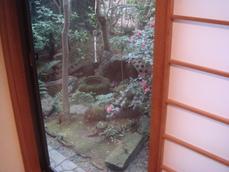 本吉屋 小さなお庭