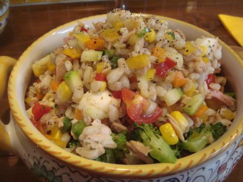 メッシタ 麦のサラダ