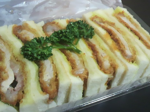 レストラン桂 お土産カツサンド