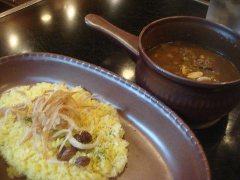 ビストロ喜楽亭 挽肉の野菜カレー