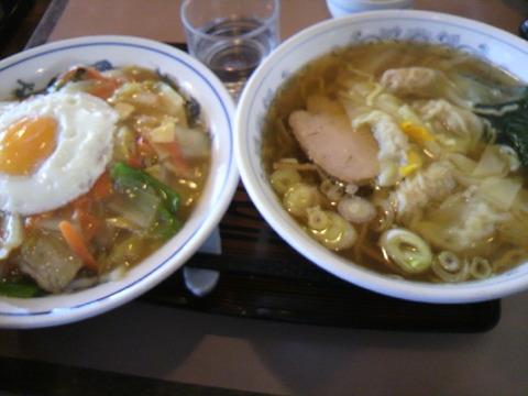 サンキスト 中華丼&ゆずワンタンメン