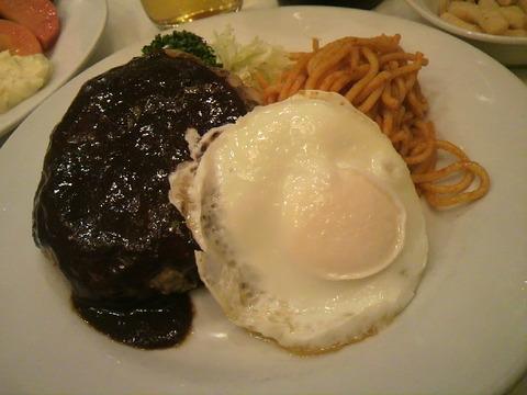 レストラン桂 ハンバーグ目玉焼き