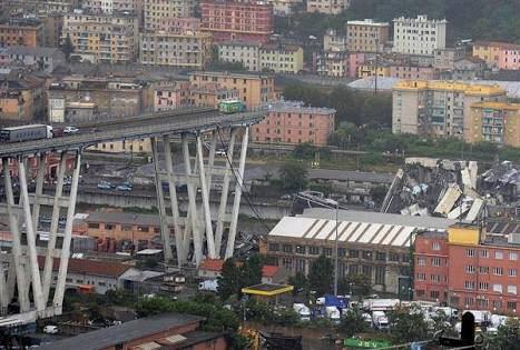イタリア高速道路の高架崩落、35人死亡 危険性以前から指摘  「悲劇がいつ起きてもおかしくない状況だった」