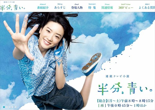【悲報】 NHK朝ドラ「半分青い」の展開が滅茶苦茶すぎて視聴者ドン引き
