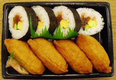 ジッジ「お寿司買ってきたで!」彡(^)(^)「やった!ジッジ大好き!」