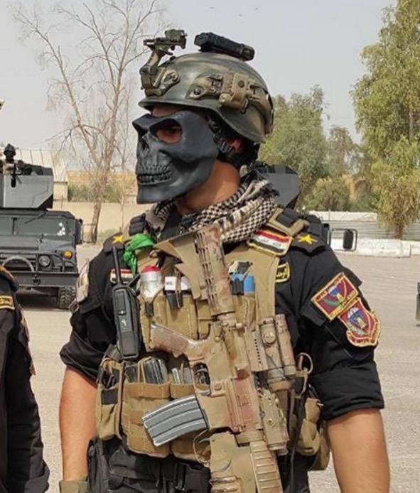 イスラム国を狩るイラク軍特殊部隊「黄金師団」、髑髏のマスク、黒色のハンヴィーを乗り回す死の部隊